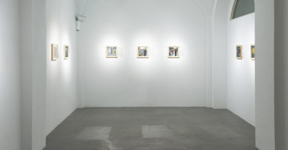 Tatiana Villani, visione della mostra Io nell'epoca dell'autorappresentazione digitale. Foto di Dania Gennai.