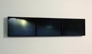 """Andrea Santarlasci, """"Eterocronia: ipotesi di un ricordo"""", 2015 light box, trittico, 55 x 37 cm ciascuno"""