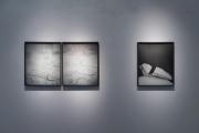 Darren Harvey-Regan, The Erratics (exposure #1), The Erratics (exposure #2), The Erratics (wrest #1), 2015, Fiber-based print/Stampa su carta baritata, Edition of 6/Tiratura di 6, Dimensions variable/Dimensioni variabili. Opera esposta in galleria: 60x50 cm. Foto di Dania Gennai.