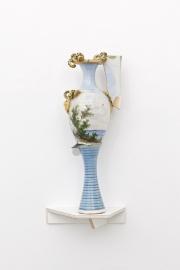 Beatrice Meoni, Florentia, 2018, porcellana, cm 50x20x18