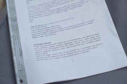 10.Rosa Ciacci, Playlist siderale, testo