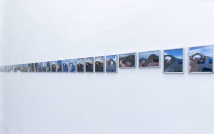 13.Mariagrazia Pontorno, Everything I Know_33 Atlas, 2018, 33 stampe fotografiche su carta Hahnemuhle, cornici di zinco con incisione laterale, 10x13 cm, ed. di 3.