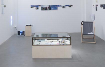 2.Mariagrazia Pontorno, Everything I Know / Volume 2 - Floating Lab, veduta della mostra