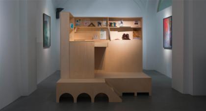 """Sabina Mirri, installazione """"Studiolo"""", foto di Dania Gennai"""