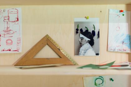 """Sabina Mirri, """"Studiolo"""", particolare, foto di Dania Gennai"""