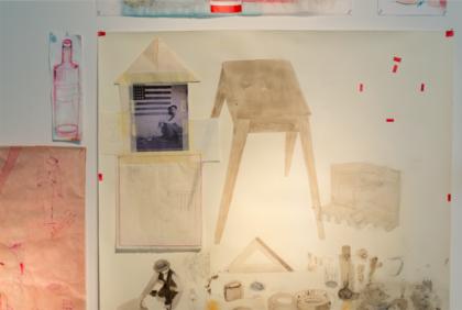 "Sabina Mirri, ""Studio"",  foto di Dania Gennai"