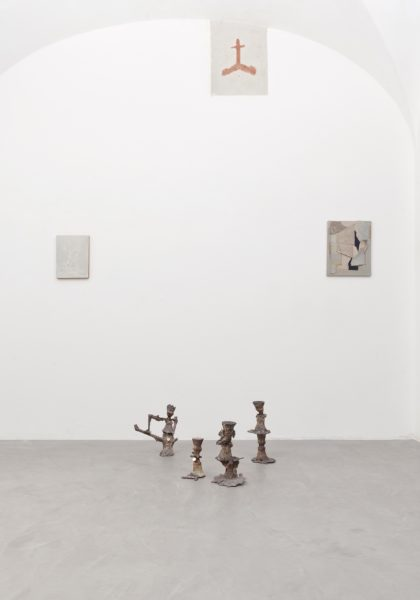Visione parziale della mostra